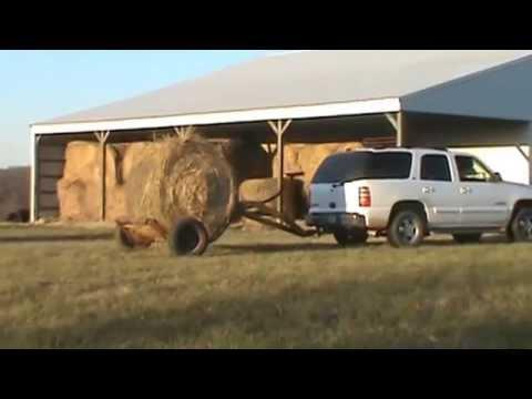 Tumble Bug Hay Trailer