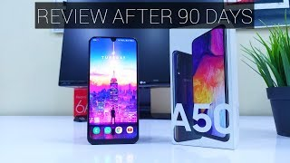 Samsung Galaxy A50 Full REVIEW After 90 Days - Better Than Galaxy M40?
