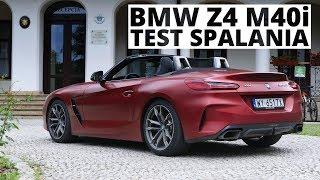 BMW Z4 M40i 3.0 340 KM (AT) - pomiar zużycia paliwa