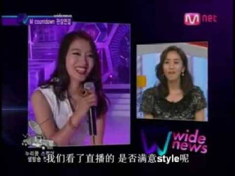 090813 MNET  Hwangbo interview 【中字】