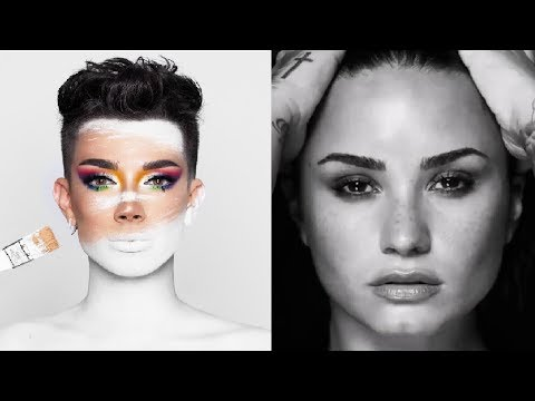 why James Charles is better than Demi Lovato