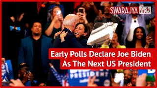 Democratic Candidate Joe Biden Ahead Of Donald Trump In Race For US President, Early Polls Suggest