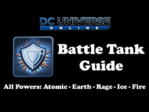 DCUO: Battle Tank Guide - All Powers