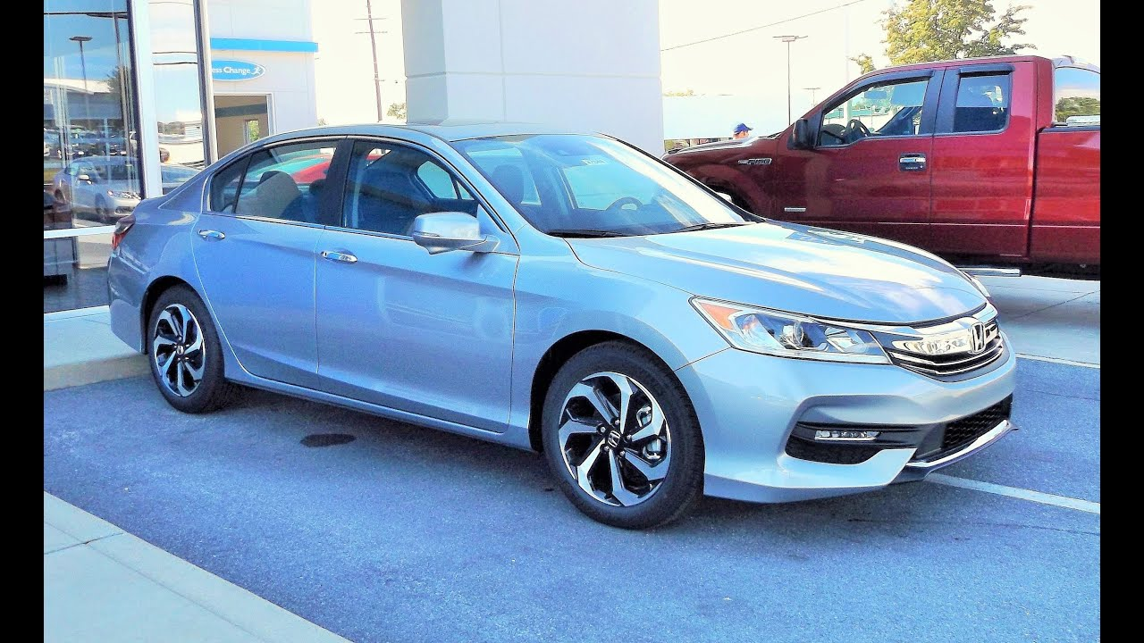 2016 Honda Accord EX L Start Up, Review And Full Tour   YouTube