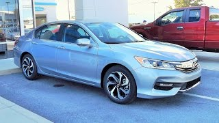 2016 Honda Accord EX-L Start Up, Review and Full Tour