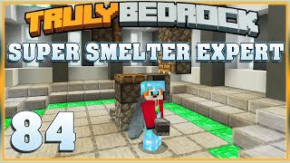 Truly Bedrock E84 Super Smelter Experts with Foxynotail | Minecraft Bedrock