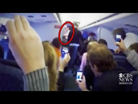 Top 15 Most Scary Videos Caught on Airplanes