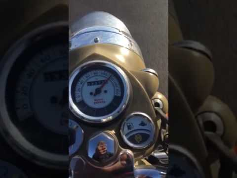 Royal Enfield Desert Storm 500 Cc Top Speed Youtube