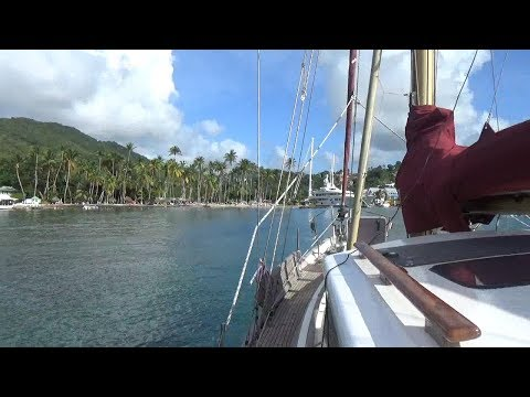 Ep20 Sailing St Lucia...Our first taste of the Caribbean!