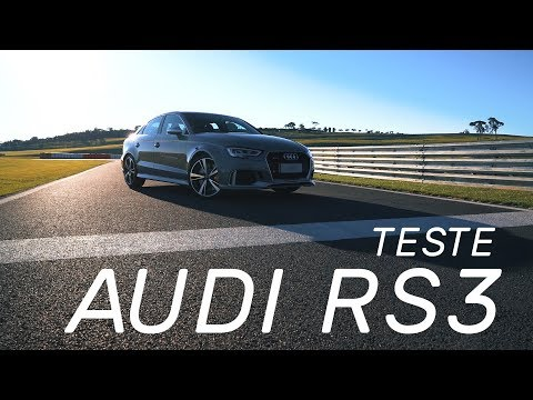 Audi RS3 Sedan - Teste Webmotors