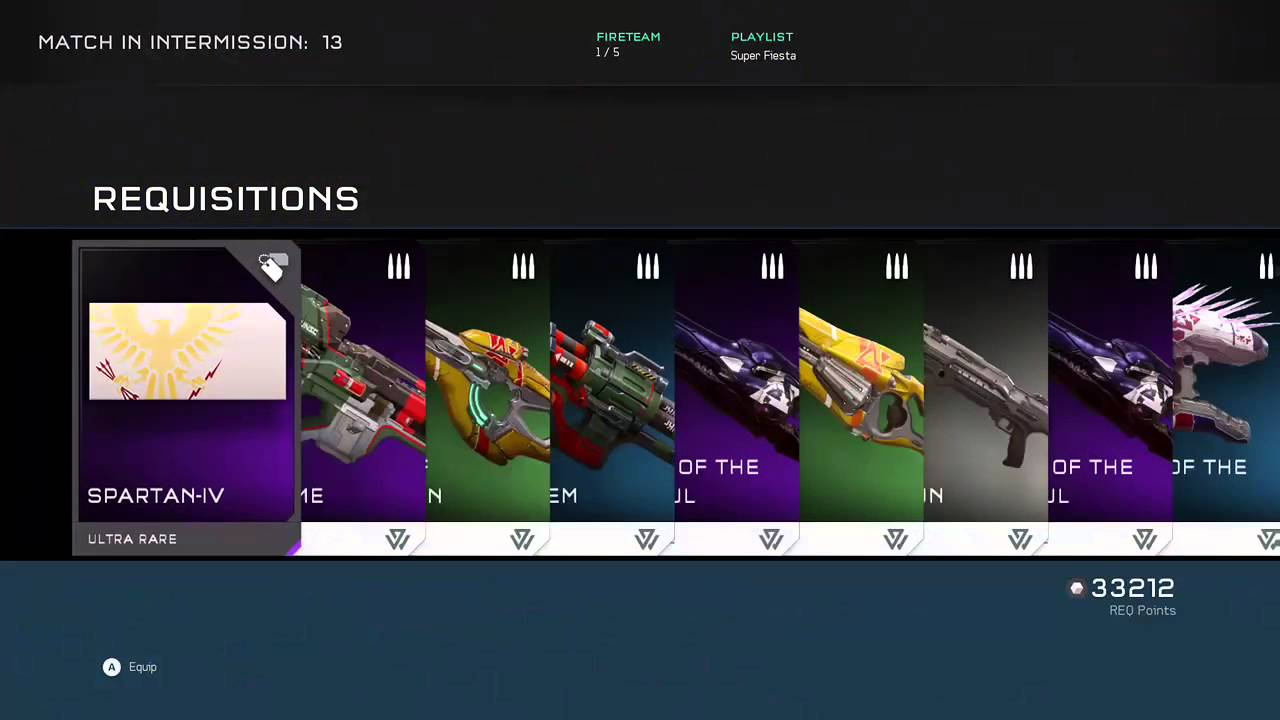 Unsc Mastery Spartan Laser Pack Full Completion Chief S Crest