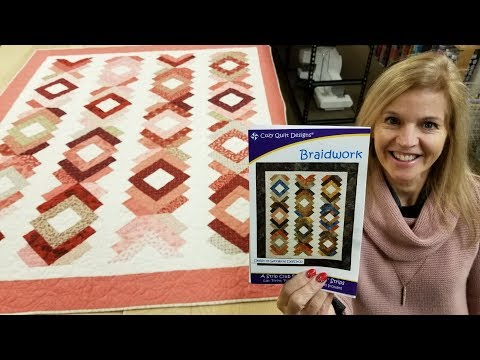 HOW TO BRAID A QUILT!!