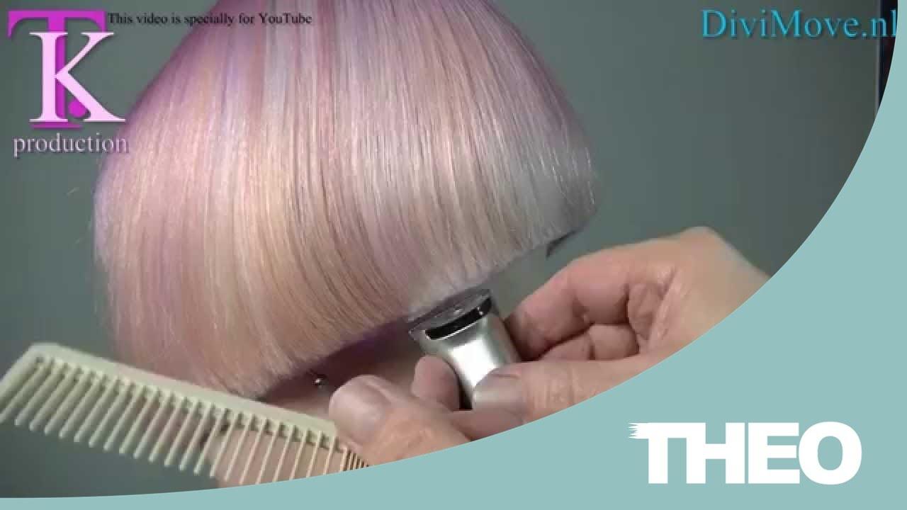 Blunt trendy clipper cut bob shaved nape in a sexy trendy
