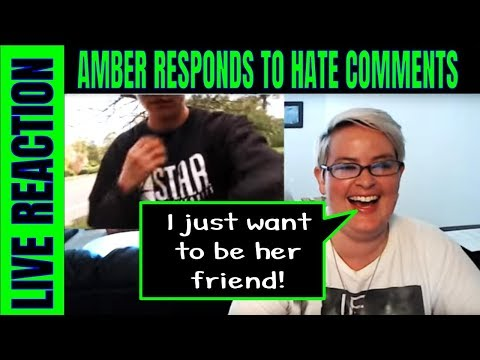 Reacting to Amber's Mean Comments LIVE