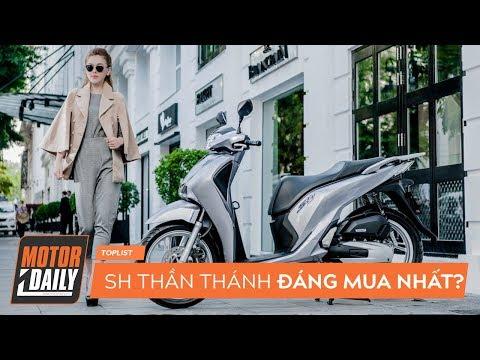 Top 8 Xe Tay Ga đáng Mua Nhất 2019, Không Thể Bỏ Qua SH Thần Thánh |MOTORDAILY|
