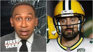 Stephen A. believes Aaron Rodgers' career will be a disappointment without another ring | First Take