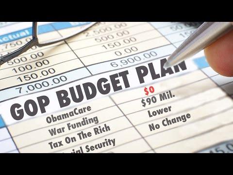 The GOP Balanced Budget Plan - What