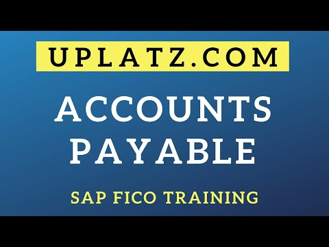 SAP FICO Training - Accounts Payable | Uplatz