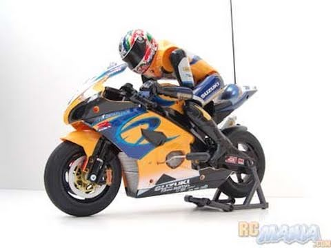 nikko rc motorcycle suzuki gsxr1000 1 5th scale rc mania youtube. Black Bedroom Furniture Sets. Home Design Ideas