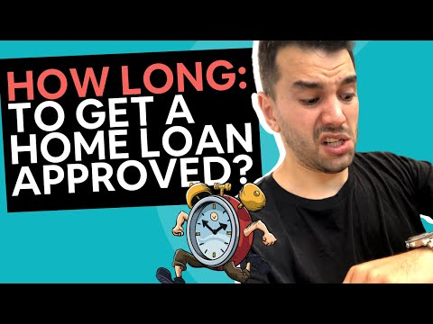 How Long Does A Pre Approval Home Loan Take?