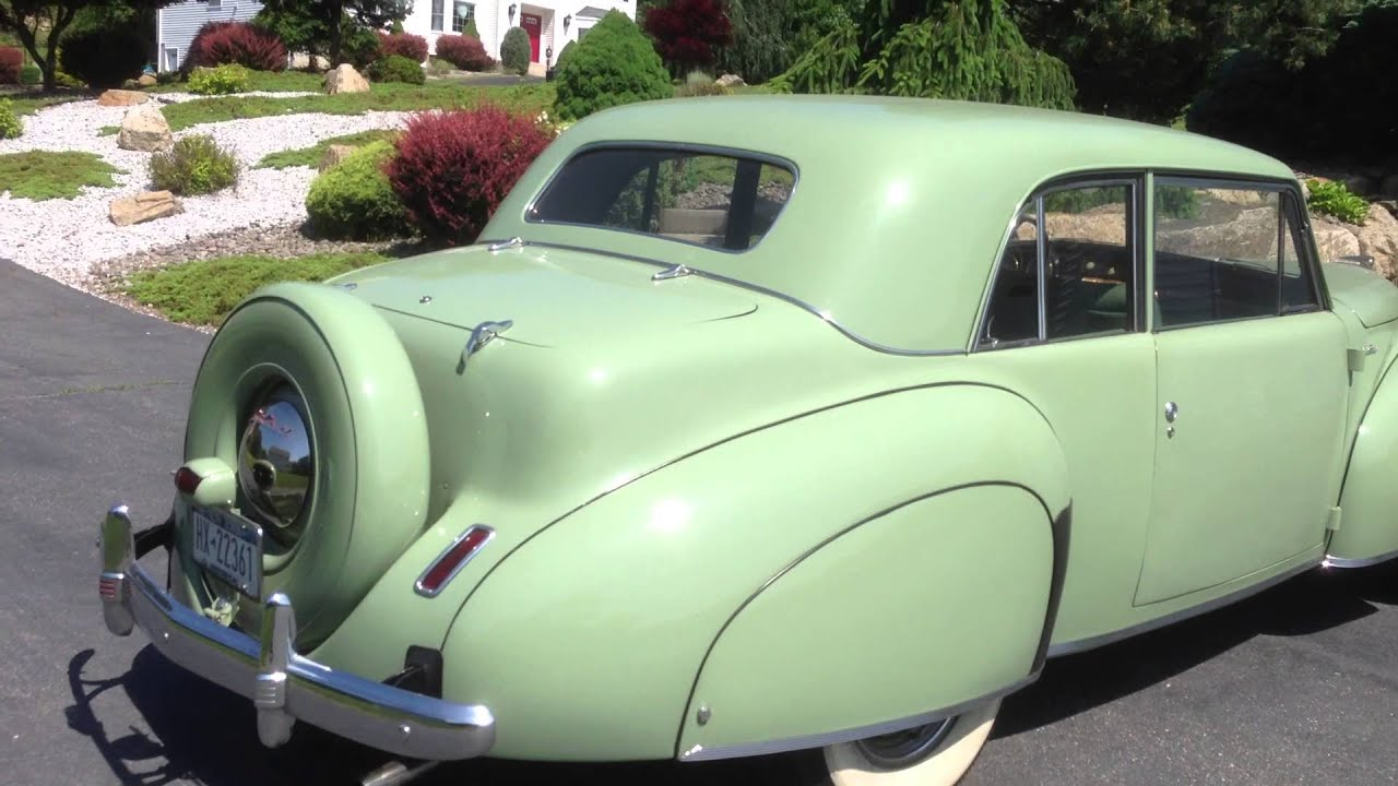 1941 Lincoln Continental Coupe For Sale 1 Of 2 Youtube Interior