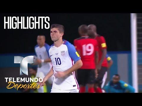 Highlights: Trinidad y Tobago 2 - Estados Unidos 1 | Rumbo al Mundial Rusia 2018 | Telemundo