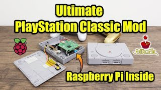 Ultimate PlayStation Classic Mod -  I Put A Raspberry Pi In It!