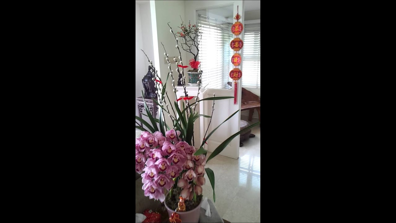 Chinese New Year 2014 Home Decoration Youtube