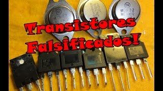 Transistores Falsificados 1ª, 2ª linha!!