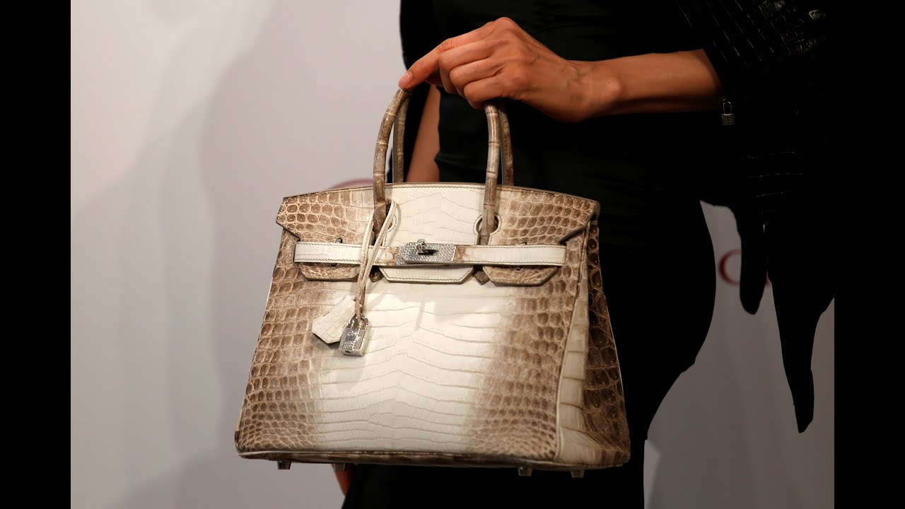 0ee0b27bb8 Birkin Bag Went for 300K at Christie s - YouTube