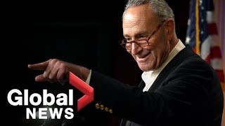Chuck Schumer FULL news conference on midterm elections results