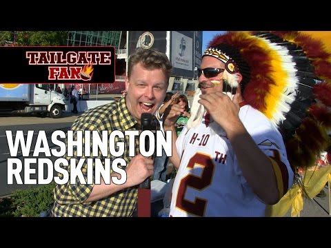 Tailgate Fan: Washington Redskins