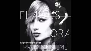Flavius feat Lora - Prin multime (Nightcore)