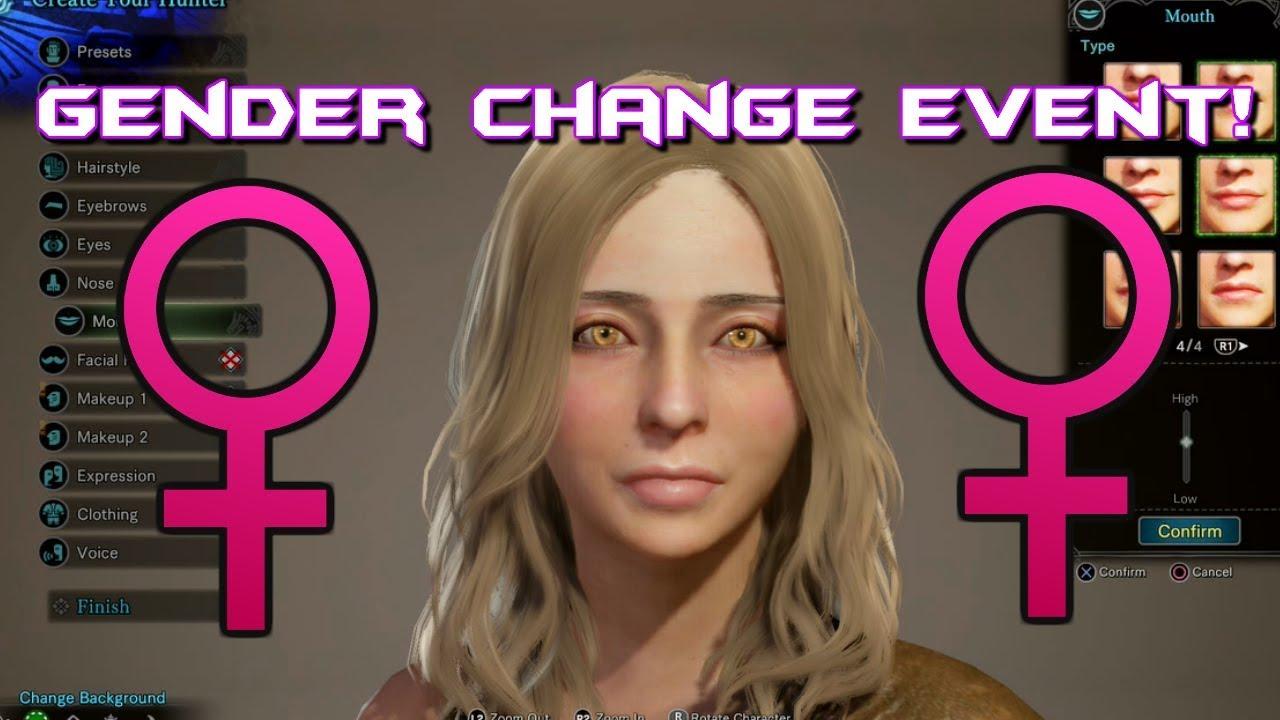 monster hunter world character edit voucher ps4