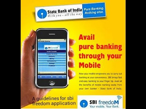 HOW ACTIVATE SBI FREEDOM MOBILE BANKING ACTIVATION AND FUND TRASFER