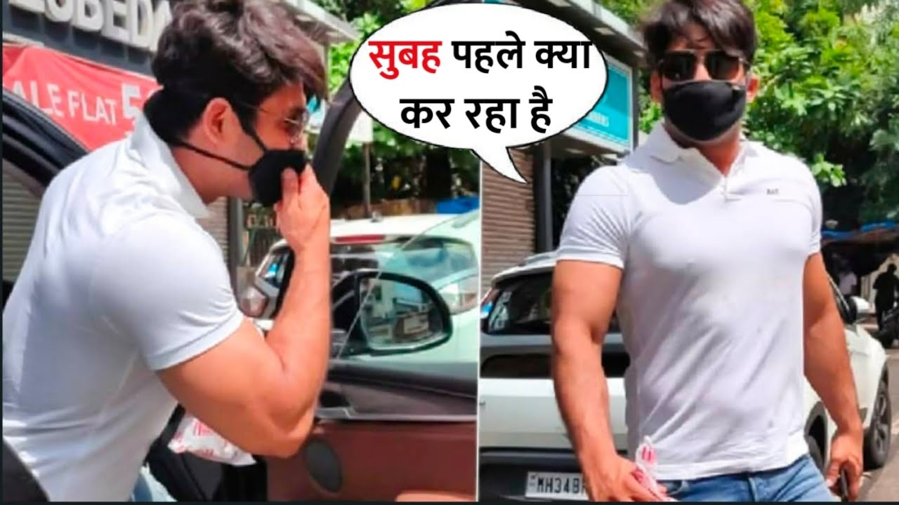 Siddharth Shukla SPOTTED Roaming On Raksha Bandhan In Mumbai,Gets Angry On Photographer