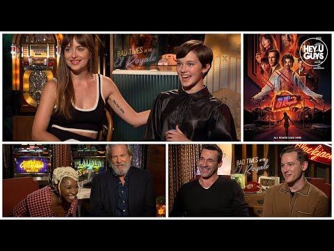 Dakota Johnson, Jon Hamm & Cailee Spaeny on bizarre hotel experiences at the El Royale