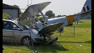 Two Men Survive 'Miracle' Plane Crash, Leaving Woman with Serious Injuries