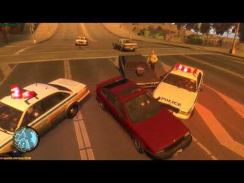 GTA 4 - Мод по просьбе - Аварийки при ДТП, тест скрипта