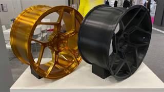 20 inch 3D printed wheel - Builder 3D Printers