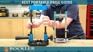 First Look: Rockler Porтable Drill Guide and Vise