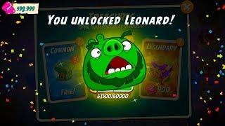 Angry Birds 2 Unlock Leonard! (New Hero)