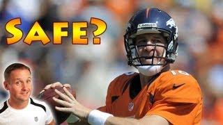 Peyton Manning - Safe To Play Football After Neck Injury?