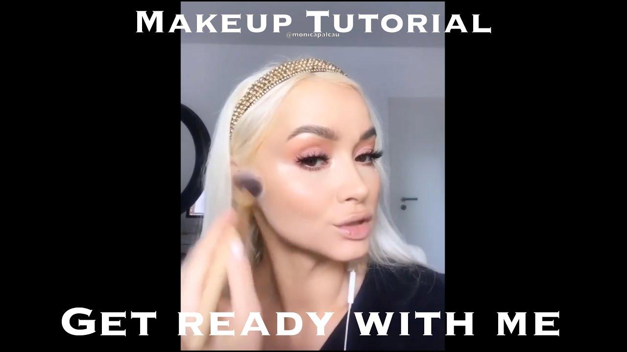 Tutorial de machiaj: Rutina mea de makeup de zi cu zi, tehnici Monica Palcau