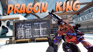 CS:GO - M4A4 | 龍王 (Dragon King) Gameplay