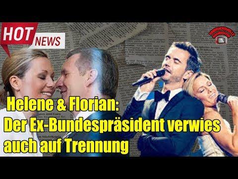 Helene Fischer und Florian Silbereisen: der Ex-Bundespräsident verwies auch auf Trennung von Helen