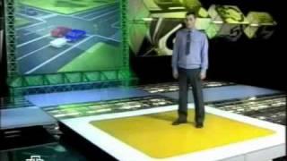 видео ДТП на перекрестке при повороте налево