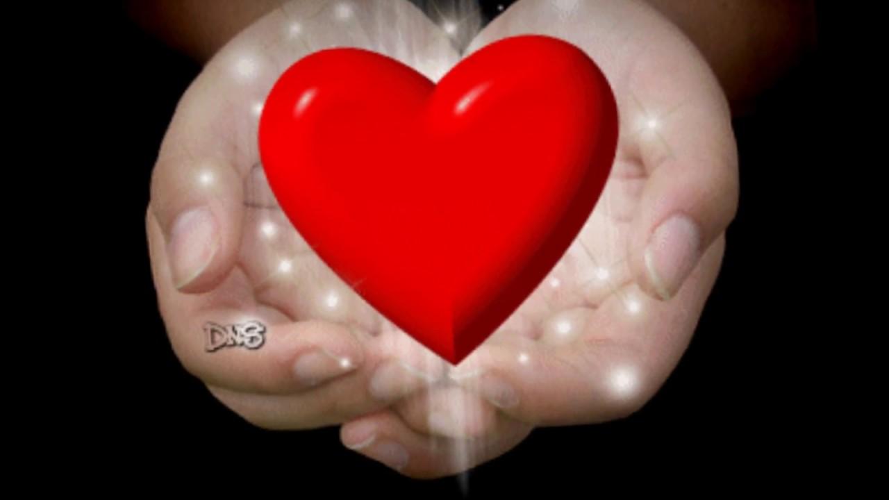 Открытка бьющееся сердца, поздравительные