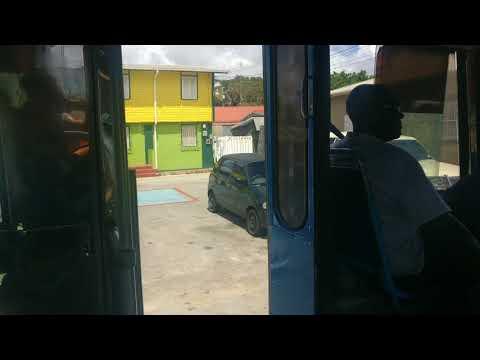 Barbados Public Transport Bus