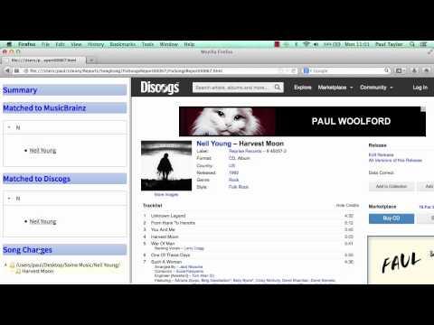 Fixing song metadata with SongKong